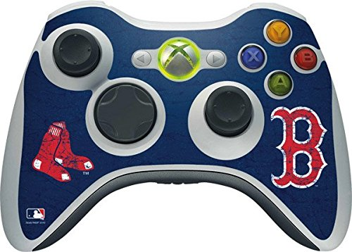 MLB-Boston-Red-Sox-Boston-Red-Sox-Solid-Distressed-Skin-for-1-Microsoft-Xbox-360-Wireless-Controller