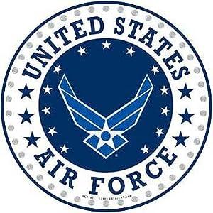 "Amazon.com - USAF Air Force Logo Aluminum Sign 12"", United States Air"