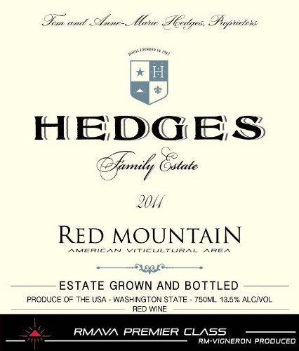 2011 Hedges Family Estate Red Mountain 750Ml