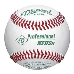 Diamond D1-Pro NFHS Baseball - (One Dozen) by Diamond