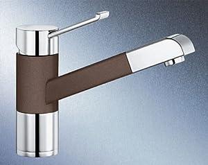 BLANCOZENOS-S robinet mitigeur, haute pression, SILGRANIT® café/chrome - 517827
