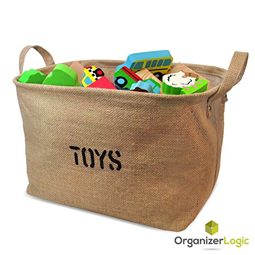 Jute-Storage-Bin-Eco-Friendly-for-Toy-Storage-Storage-Basket-for-organizing-Baby-Toys-Kids-Toys-Baby-Clothing-Children-Books-Gift-Baskets