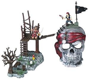 Amazon.com: Mega Bloks Pirates of the Caribbean Skull