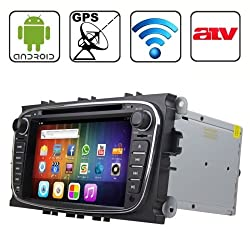 See Rungrace 7.0 inch Android 4.2 Multi-Touch Capacitive Screen In-Dash Car DVD Player for Ford Mondeo with WiFi / GPS / RDS / IPOD / Bluetooth /ATV Details