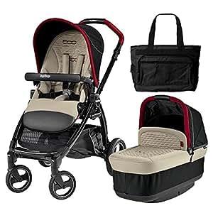 Amazon.com : Peg Perego - Book Pop Fiat 500NA With Bag : Baby