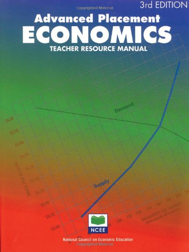 Advanced Placement Economics: Teacher Resource Manual (Advanced Macroeconomics 4th compare prices)