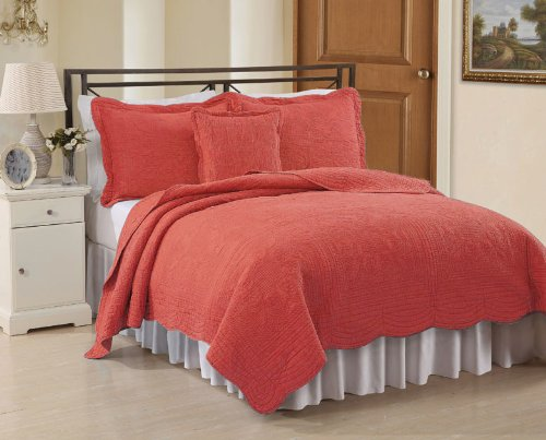 Coral Bedding Queen 8233 front
