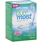 Opti-free Pure Moist Solution, 2 Oz