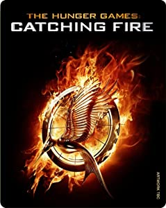 Hunger Games: Catching Fire - Limited Edition Triple Play Steelbook [Blu-ray + DVD + UV Copy]