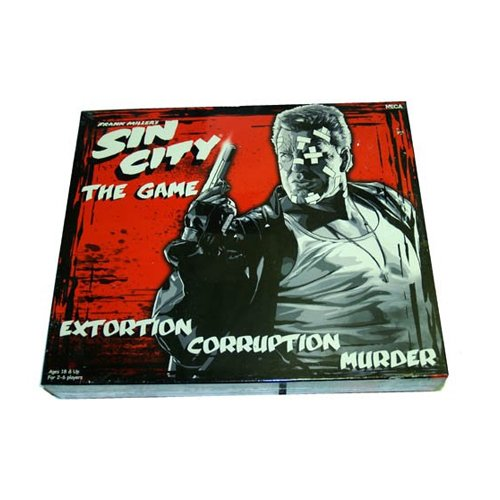 Sin City Frank Miller Comic Book Movie Board Game