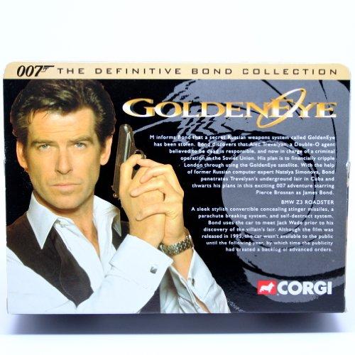 Bmw Z3 James Bond Edition For Sale: BMW Z3 ROADSTER * GOLDENEYE * 2001 Corgi Classics 007 The