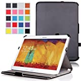 MoKo Samsung Galaxy Note 10 2014 Edition Case - Genuine Leather Slim-Fit Multi-angle Stand Cover For Samsung Galaxy...