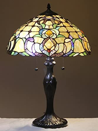 tiffany style stained glass table lamp dublin floor lamps ama. Black Bedroom Furniture Sets. Home Design Ideas