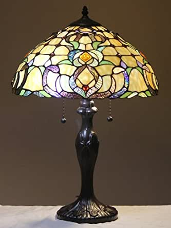 Tiffany Style Stained Glass Table Lamp Dublin
