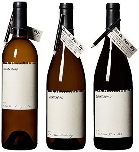 Scratchpad Cellars Central Coast Mixed Pack, 3 X 750 Ml