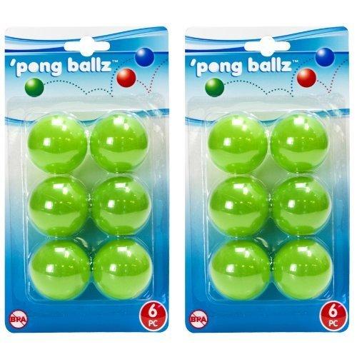 Evriholder PBZ-G Pong Ballz, Set of 2, Green Model: PBZ-G