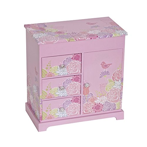Mele & Co. Pearl Girl's Musical Ballerina Jewelry Box (Jewelry Upright Box compare prices)
