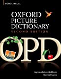 img - for Oxford Picture Dictionary (Monolingual English) book / textbook / text book