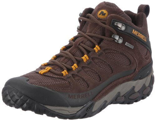 Merrell Men's Refuge Core Mid Ventilator Waterproof Hiking Boot