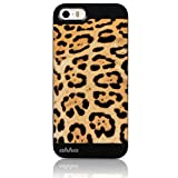 Ahha Bruno Metallic Back Case Cover for Apple iPhone 5 / 5S / SE  - Leopard Brown (A-MCIH5-0BN2)