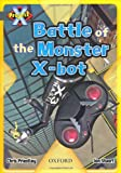 Chris Priestley Project X: Grey: Behind the Scenes: Battle of the Monster X-bot