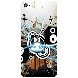 Apple iPhone 5C Back Cover - Loudspeaker Designer Cases