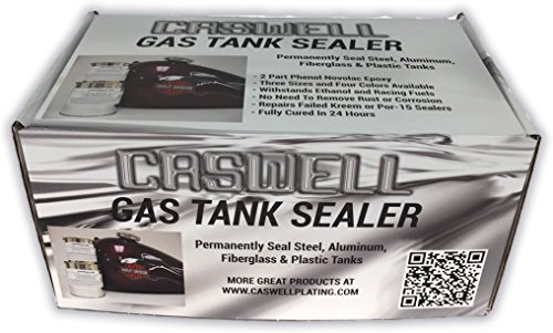 Caswell Petrol Blue Gas Tank Sealer Motorcycle Kit (Fuel Tank Putty compare prices)