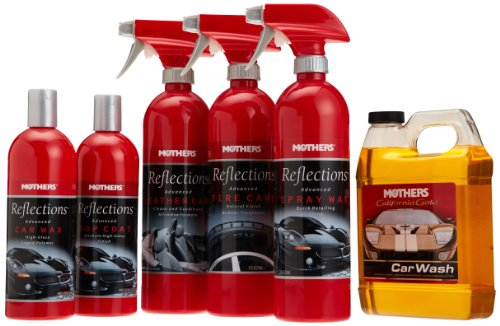 Top products best review mothers reflections car care kit automotive car care interior care for Best interior car care products