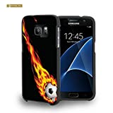 img - for Spots8  Hard Plastic Slim-fit Phone Case for Samsung Galaxy S7 [Hot Soccer Goal] book / textbook / text book
