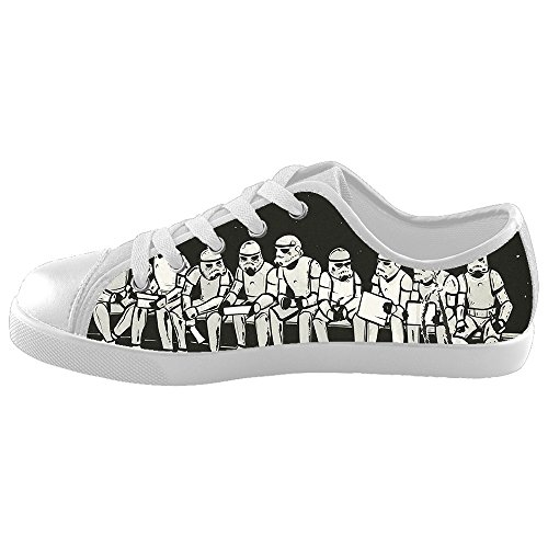 PSST!BANG! NEW of 2016 Comfortable Stormtroopers Custom Canvas Kid's Shoes
