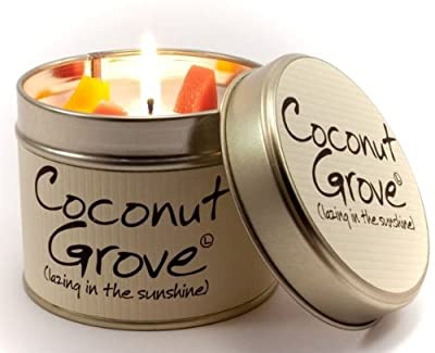 Lily Flame Scented Candle Tin - Coconut Grove by Lily Flame
