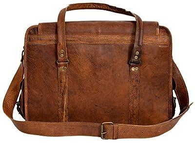 "Gusti Cuir nature ""Charles"" sac de voyage bagage cabine en cuir sac de sport sac en cuir Macbook-Air 13"" iPadAir 9,7"" bagage à main sac bandoulière sac porté épaule vintage marron R40b"
