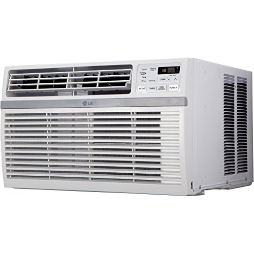 LG LW1015ER 10,000 BTU 115V Window-Mounted Air Conditioner with Withdrawn Control