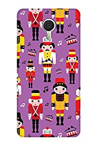 ZAPCASE PRINTED BACK COVER FOR Meizu M3 Note