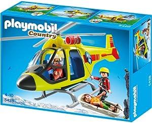 PLAYMOBIL 5428 - Helikopter der Bergrettung