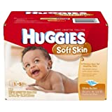 Huggies Baby Wipes Soft Skin Shea Butter Refills 320 Ct