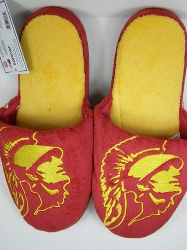 Cheap USC Trojans 2011 Big Logo Two Tone Hard Sole Slippers (B006KYQPKO)