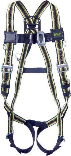 Miller by Honeywell E850-2/XXLGN DuraFlex Warehouse Pickers Full-Body Harness with Elastomer Webbing, XX-Large, Green (Miller D Ring Extension compare prices)