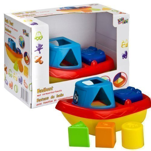 Baby Bath Boat - Shape Sorting Function