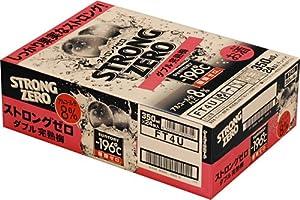 サントリー チューハイ -196℃ ストロングゼロ ダブル完熟梅 350ml×24缶 (1ケース)