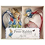 Meri Meri Gift Tag Peter Rabbit, 10-Pack