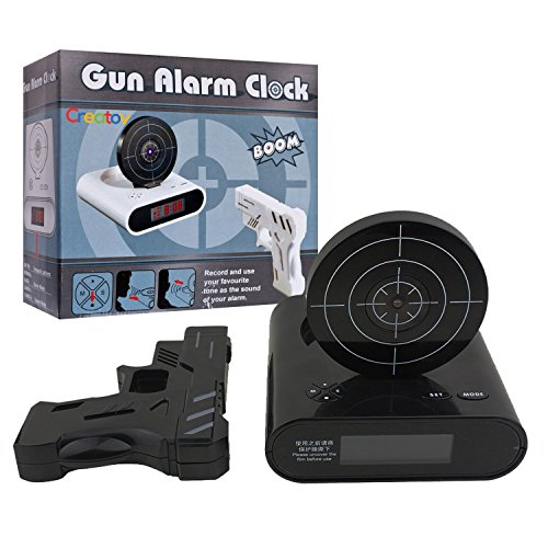 Creatov Alarm Clock with Infrared Laser Gun