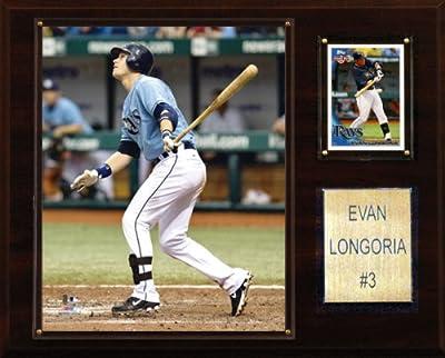 MLB Evan Longoria Tampa Bay Rays Player Plaque