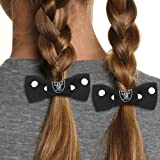 NFL Oakland Raiders Bow Pigtail Holder at Amazon.com
