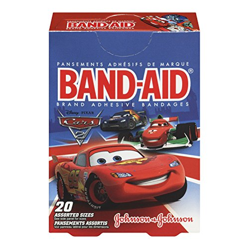 Band-Aid Brand Adhesive Bandages, Cars, 20 Count  (Pack of 6) (Jj Bean Coffee compare prices)