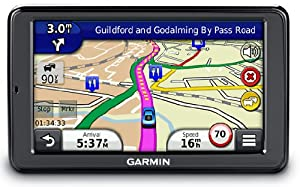 "Garmin nuvi 2545LMT 5"" Sat Nav with UK and Western Europe Maps, Free Lifetime Map Updates and Free Lifetime Traffic Alerts"