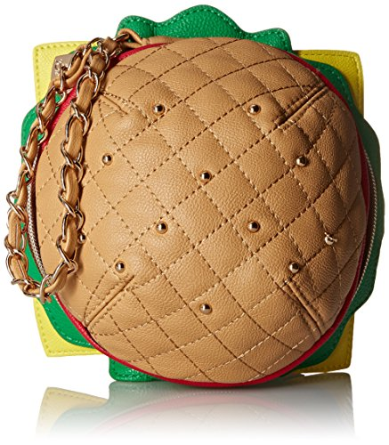 Betsey Johnson Kitch Nice Buns Burger Wristlet