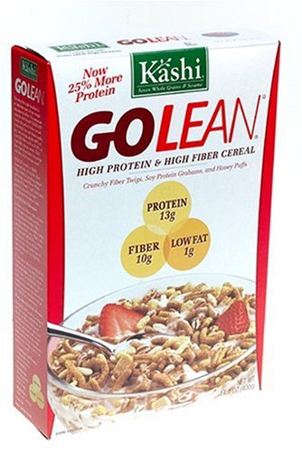Kashi GOLEAN Cereal, 14.1-Ounce Boxes (Pack of 6)