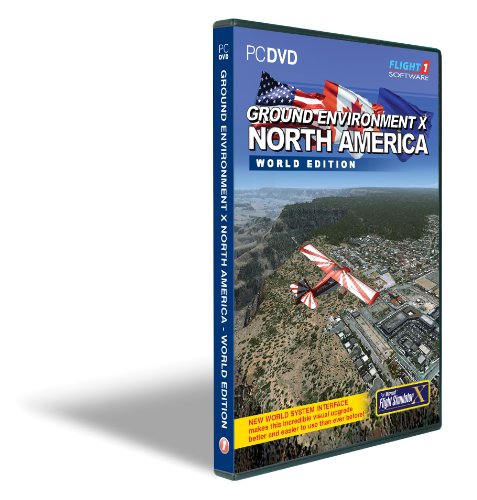 Ground Environment X North America World Edition for FSX (PC)
