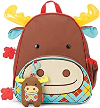 Skip Hop Zoo Winter Backpack & Plush Set - Moose